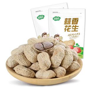 云食间 龙岩蒜香花生500g*4包