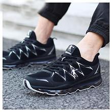 热销款# 乔丹 男士透气网面气垫跑步鞋 139元包邮(179-40券)