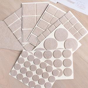 毛毡桌椅脚家具保护垫72片