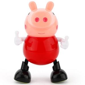儿童玩具电动会跳舞的小猪