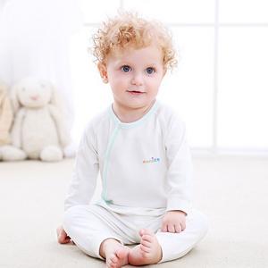 婴儿保暖舒适内衣纯棉套装
