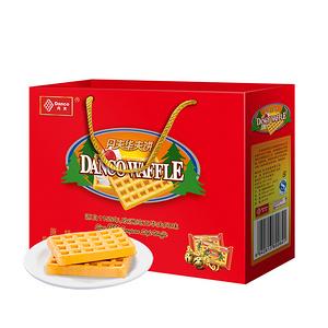 丹夫 华夫饼经典红色礼盒装420g
