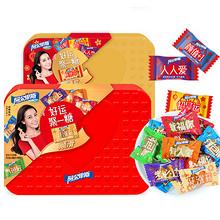 年货速递#阿尔卑斯 硬糖礼盒装500g      29.8元包邮 (34.8-5券)
