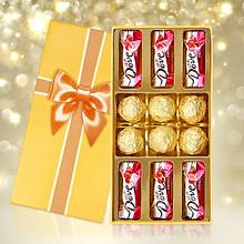 小额红包好去处 # 创意巧克力礼盒装 9.9元包邮(19.9-10券)
