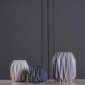 bestwest 北欧简约陶瓷装饰花瓶