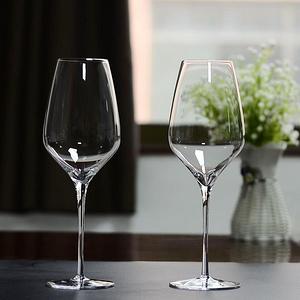 欧式奢华无铅水晶高脚玻璃杯2支