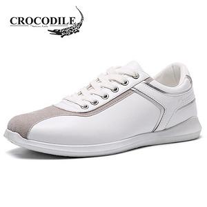 鳄鱼恤 男士低帮时尚休闲小白鞋