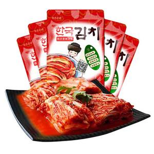 拍2# 韩式朝鲜延边辣白菜2250g
