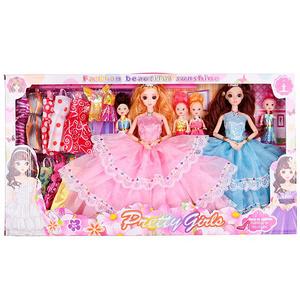 乖乖芭比女孩玩具洋娃娃套装礼盒