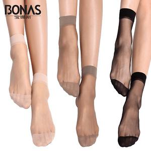 【宝娜斯】超薄防勾丝隐形水晶丝袜25双
