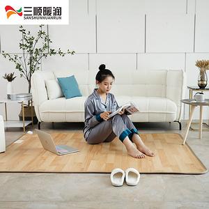 【大小都有】碳晶加热地暖垫家用电热地毯