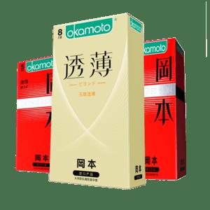 冈本 超薄003+SKIN避孕套21只