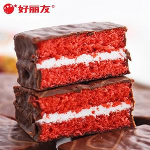 【好丽友】q蒂红丝绒蛋糕12枚*3盒