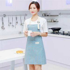 【防油防污】韩版时尚简约棉麻围裙
