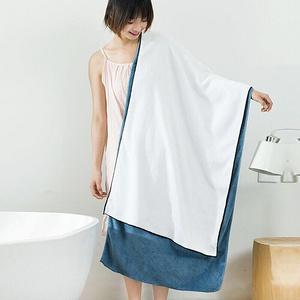【勤换浴巾预防细菌滋生】日系刺绣大浴巾