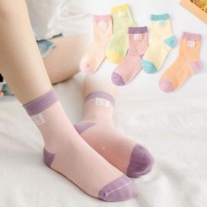 【拍2件】儿童薄款网眼棉袜10双