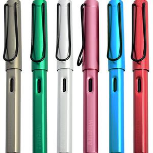 永生钢笔拍2支+20墨囊+1瓶墨水