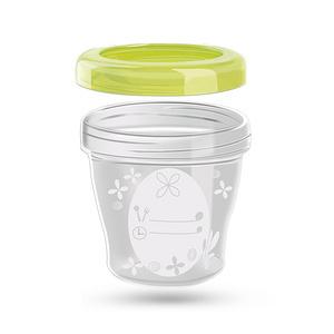 迪芽 便携婴儿辅食零食奶粉盒