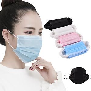 新款男女一次性口罩三层薄款防晒防尘雾霾