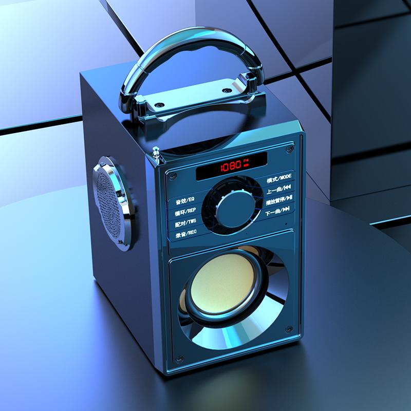 雅兰仕 户外超重低音炮蓝牙音箱