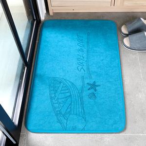 【斯美儿】浴室吸水地垫卫生间卫浴防滑垫