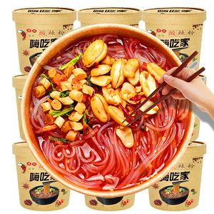 网红嗨吃家重庆风味酸辣粉6桶