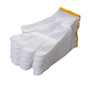 【3双装】白尼龙纯棉纱线劳保耐磨手套