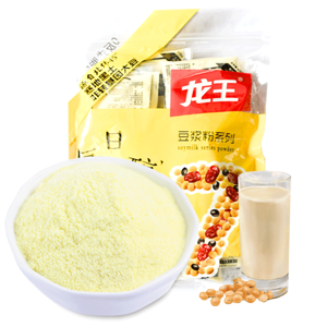 【新券】龙王非转基因豆浆粉30g*16袋