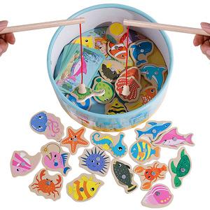寶寶益智早教磁鐵釣魚玩具