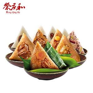 【荣庆和】手工鲜肉粽112g*3真空包装