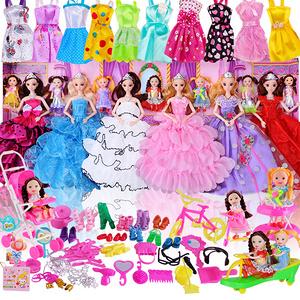 【芭比娃娃】婚紗換裝68件套裝