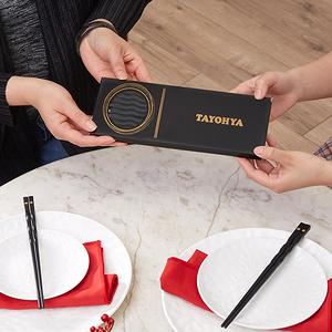 【多样屋】家用防滑合金筷子10双装