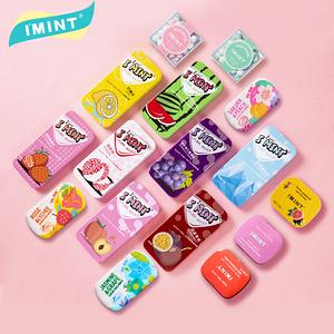 任選6盒!IMINT網紅無糖薄荷糖