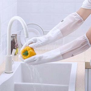 【政恩】耐用型家务清洁透明手套