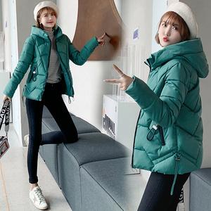 羽绒服女短款冬季宽松加厚外套