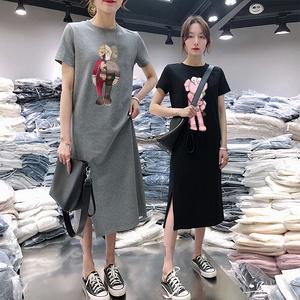 【第二件0元】小飞象连衣裙短袖T恤