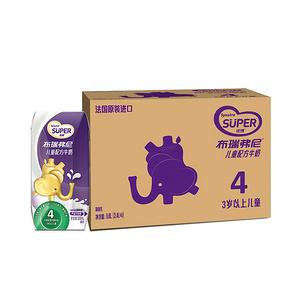 【史!低】猫超圣元4段儿童配方牛奶48支