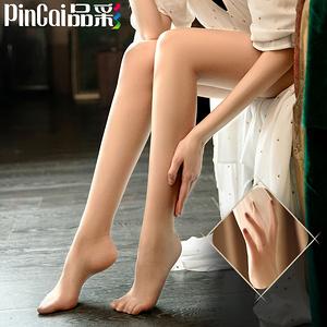 【品彩】薄款菠萝丝袜女3条装