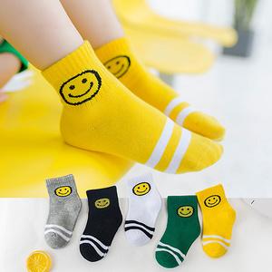 【绵绵猴】夏季薄款网眼儿童袜子5双
