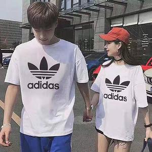 【明星同款】男女情侣纯棉短袖T恤