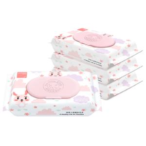 【宜可拉】婴儿手口专用湿纸巾10抽*5