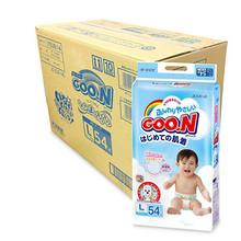 GOO.N 大王 维E系列 婴儿纸尿裤 L54片*4包 312元包邮(279+33)