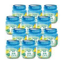 Heinz 亨氏 甜嫩玉米泥 1段 113g*12瓶 折49元(99-20)