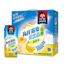 桂格 高纤燕麦乳 香蕉味 250ml*12包 19.9元