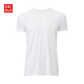 UNIQLO 优衣库 圆领短袖T恤 19元