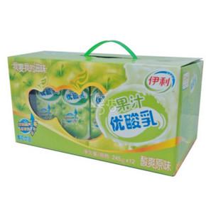 伊利 果汁优酸乳原味 245g*12 17.9元