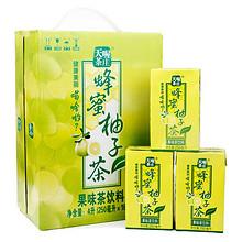 天喔茶庄 蜂蜜柚子茶250ml*16整箱装 16.9元