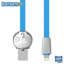 Rock 洛克 哆啦A梦苹果数据线 1m 券后19元包邮