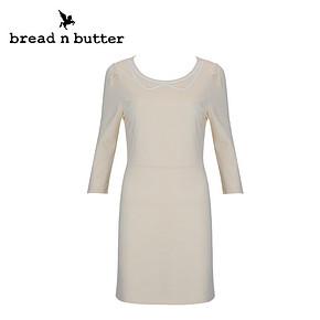 bread n butter 简约时尚七分袖连衣裙 66元包邮