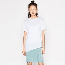 ZARA  亮光拼接连身裙 59元包邮